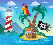 picture of pirate  - Small pirate island theme 3  - JPG