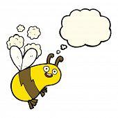 pic of bee cartoon  - cartoon bee - JPG