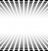 picture of grids  - Perspective black and white grid - JPG