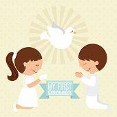 pic of communion  - first communion design - JPG