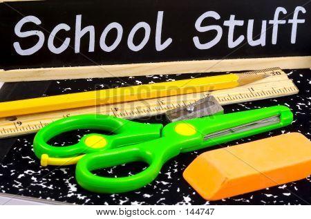 School Supplies poster
