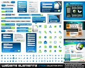 foto of web template  - Web design elements extreme collection  - JPG