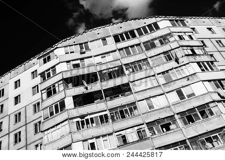 Old Soviet Style Building In