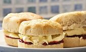 picture of devonshire  - Cornish clotted cream  - JPG