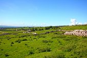 stock photo of suny  - Yorskshire Dales on a beautiful suny day - JPG