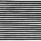 Hand Drawn Horizontal Parallel Black Thick Lines On White Background. Straight Lines Marker Sketch F poster