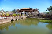 picture of emperor  - Ancient Forbidden city in beautiful Hue - JPG