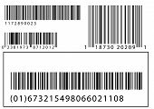 Vector Set Of Barcodes