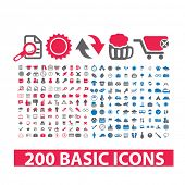 image of universal sign  - 200 basic website icons and signs - JPG