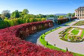 stock photo of sissi  - The beautiful Schonbrunn Palace in Vienna - JPG