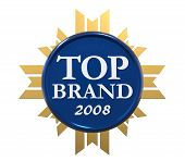 Top Brand Award of Year 2008 poster