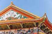 Постер, плакат: Буддийский храм крыша