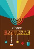 stock photo of hanukkah  - hanukkah infographics - JPG