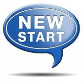 pic of fresh start  - start new life road to fresh begin new start - JPG