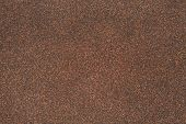 stock photo of sand gravel  - sand texture of rubberoid asphalt macro background - JPG