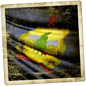 stock photo of burlington  - This is an illustration of flag of Vermont  - JPG