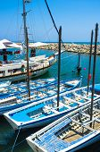 pic of larnaca  - The port of Larnaca is the best place to choose the yacht for the tourist trip along the coast Cyprus - JPG