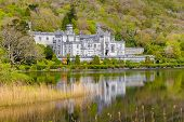 pic of galway  - Kylemore Abbey in Galway in Connacht in Ireland - JPG