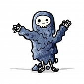 picture of ghoul  - spooky ghoul cartoon character - JPG