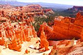 foto of thors hammer  - Beautiful landscape of Bryce Canyon National Park - JPG