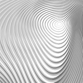 picture of distort  - Design monochrome whirl circular motion background - JPG