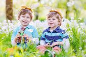 picture of bunny ears  - Family of two siblings - JPG