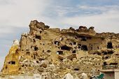 stock photo of goreme  - Town in the rock in Goreme Cappadocia Turkey