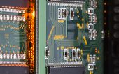 picture of microchips  - Electronic microcircuit and microchip  - JPG
