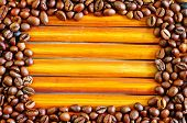 Постер, плакат: coffee beans