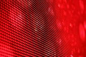 picture of diodes  - Red LED screen background close up texture - JPG