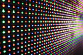 picture of diodes  - LED screen  - JPG