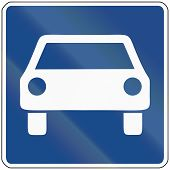 picture of traffic rules  - German traffic sign  - JPG
