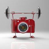 stock photo of megapixel  - Fun camera - JPG