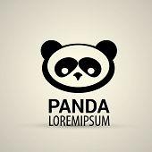 image of pandas  - vector panda icon - JPG