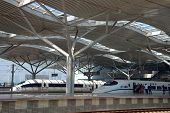 Modern Train Station In Changsha, China