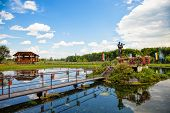 pic of chapels  - Chapel on the water in Radecznica Poland - JPG