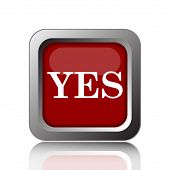 stock photo of yes  - Yes icon - JPG