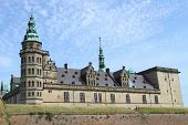 picture of hamlet  - Kronborg Castle, unesco world heritage and immortalised as Elsinore in Shakespeare
