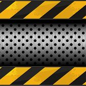 stock photo of road construction  - Construction vector background - JPG