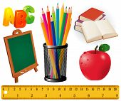 stock photo of school child  - Back to school - JPG
