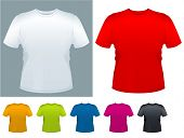 foto of t-shirt red  - Men - JPG