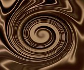 Smooth Dark Chocolate Swirl