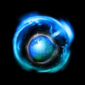 picture of outer core  - an illustration of the world in a blackhole - JPG