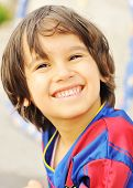 Постер, плакат: Спорт малыш улыбается