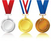 image of gold medal  - medals - JPG
