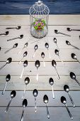 Most Wanted Muffin And A Herd Teaspoons poster