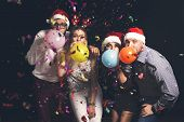 Blowing Party Balloons poster