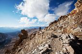 foto of mt whitney  - Mt - JPG