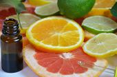 Citrus Fruit Vitamin C Serum Oil Beauty Care, Anti Aging Natural Cosmetic. Essence, Aromatherapy. Co poster