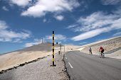 foto of dauphin  - Mountain top of the Mont Ventoux in the Haute - JPG